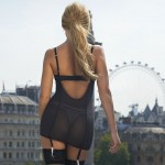 Sylvie Van der Vaart - thong London 11