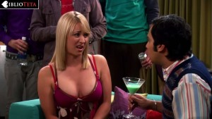 Kaley Cuoco - The Big Bang Theory - 1x08 - 09