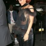 Rihanna - MET party 09