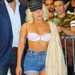 Lady Gaga boob slip 05