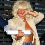 Lady Gaga boob slip 07