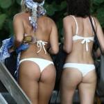 Natasha Oakley - Miami thong 09