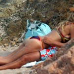 Heidi Klum topless Italy 02