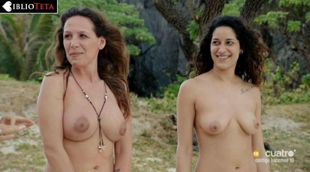 Esther y Mireia - Adan y Eva 01