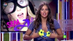 Cristina Pedroche descuido Zapeando 03