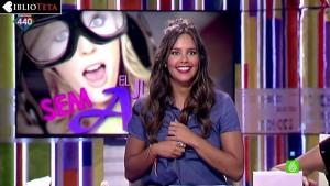 Cristina Pedroche descuido Zapeando 11