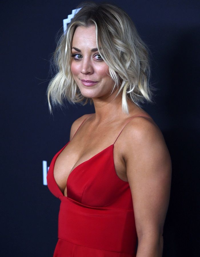 Kaley Cuoco - InStyle And Warner Bros. Golden Globe Awards 01