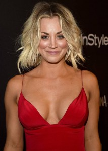 Kaley Cuoco - InStyle And Warner Bros. Golden Globe Awards 02