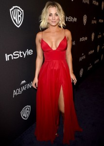 Kaley Cuoco - InStyle And Warner Bros. Golden Globe Awards 03