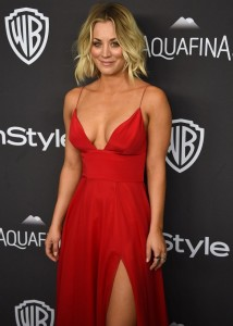 Kaley Cuoco - InStyle And Warner Bros. Golden Globe Awards 04