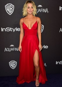 Kaley Cuoco - InStyle And Warner Bros. Golden Globe Awards 05