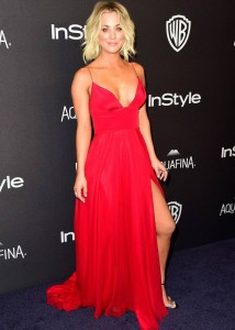Kaley Cuoco - InStyle And Warner Bros. Golden Globe Awards 06