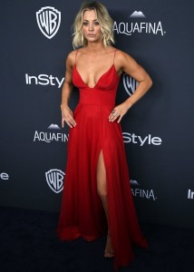 Kaley Cuoco - InStyle And Warner Bros. Golden Globe Awards 07