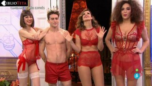 Natalia Ferviu, Marta Torne y Cristina Rodricguez campanadas 02