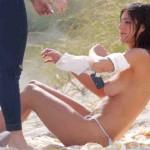 Alejandra Guilmant topless Miami 04