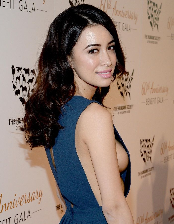 Christian Serratos side boob 01