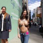Bonnie Rotten - New York topless 04