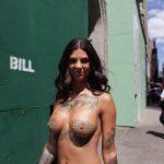 Bonnie Rotten - New York topless 05