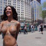 Bonnie Rotten - New York topless 10