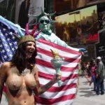 Bonnie Rotten - New York topless 20