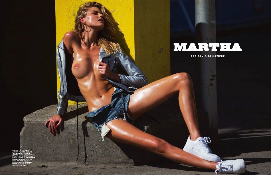 Martha Hunt - Luiz Magazine 01