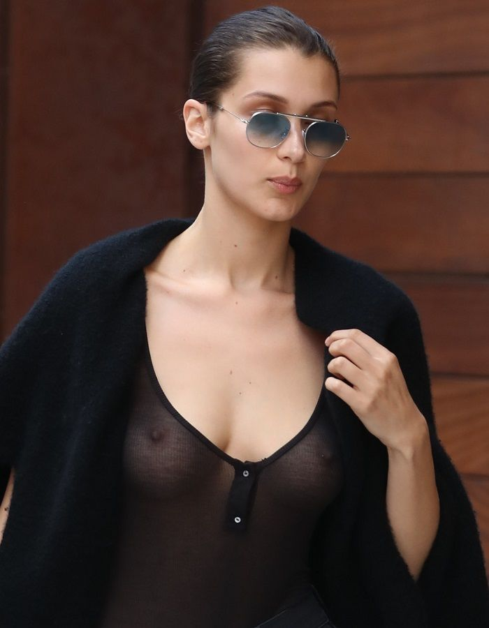 Bella Hadid see through 01