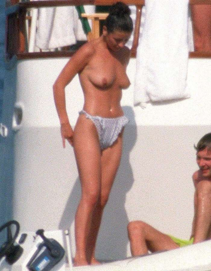 Catherine Zeta-Jones - topless France 01