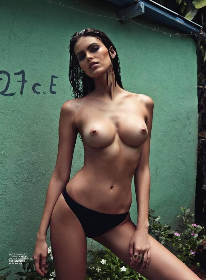 Kamila Hansen Posando Desnuda Para Lui Magazine