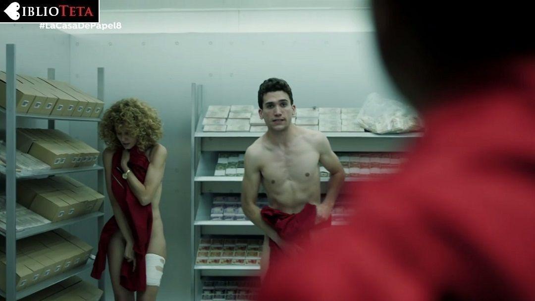 Esther Acebo Desnuda En La Casa De Papel 1x08