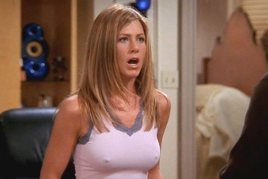 Jennifer Aniston pezones Friends