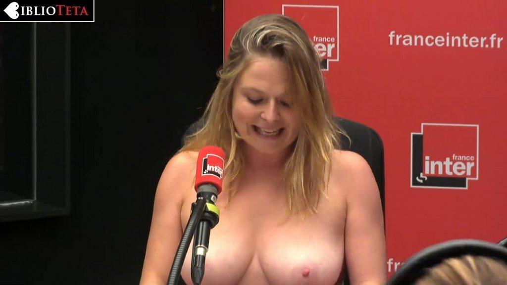 Constance Pitard topless