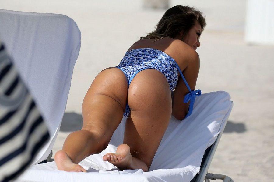 Sofia Jamora tanga Miami