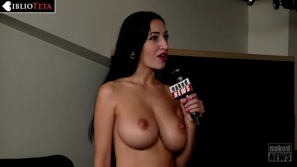Hanna Orio - Naked News