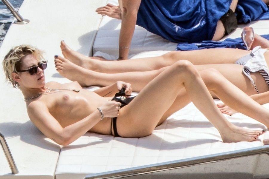 Kristen Stewart en topless