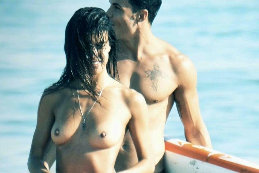 Sofía Suescun topless Marbella