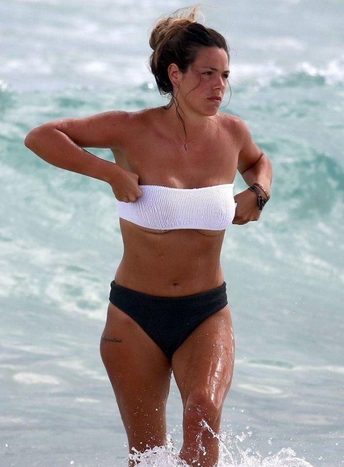 Laura Matamoros en bikini